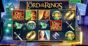Lord of The Rings gambling machines