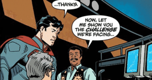 Neil deGrasse Tyson Helps Superman Locate Krypton