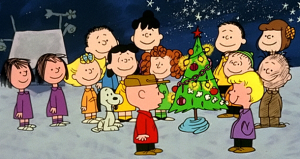 A still from A Charlie Brown Christmas - coming to an eReader near you!