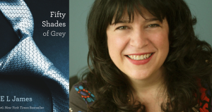 E L James, 'publishing person of the year'