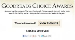 GoodReads Choice Awards Winners
