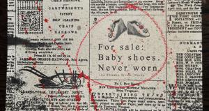 baby shoes never worn
