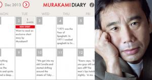 Haruki Murakami Diary app