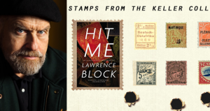 Lawrence Block's 'Hit Me' comes in a philatelic edition