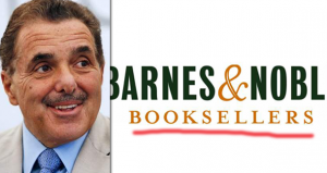 Chairman to buy Barnes & Noble's stores and website
