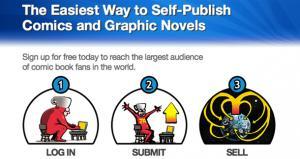 comiXology Self-Publishing Service 'Submit'