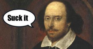 Shakespeare: Grain-Hoarding, Tax-Evading Jerk