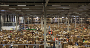 Amazon Workers Sue Over Wait Times at Security Checkpoints