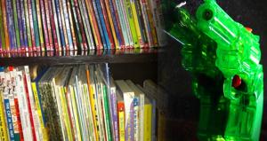 California School Trades Books for Toy Guns