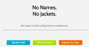 No Names, No Jackets: E-Book Discovery Site