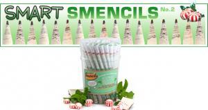 Smencils Peppermint Pencils