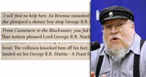 'A Feast for Crows' eBook Littered with George RR Martin's Name
