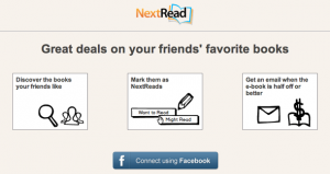 NextReads Uses Facebook to Recommend Books