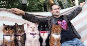 Mark Z. Danielewski Wants Your Cat Pictures!