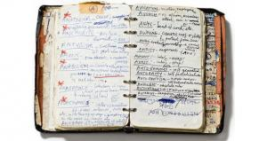 Nick Cave's Handwritten Dictionary