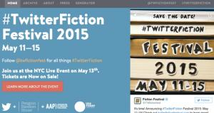 Twitter Fiction Festival Launches Next Week
