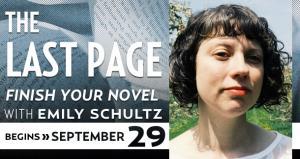 Class, Emily Schultz, Stephen King, Writing