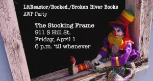 AWP, Booked, Broken River Books, Meetup