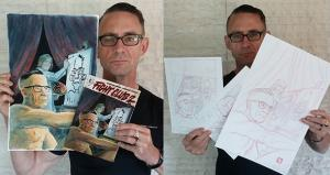 Chuck Palahniuk Auctions Off Original 'Fight Club 2' Art for Cancer Charity