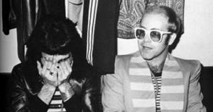 Freddie Mercury and Elton John