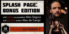 Splash Page: Bonus Edition with Alex Segura and Alex de Campi - November 2018