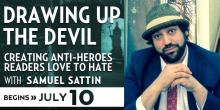 Drawing up the Devil with Samuel Sattin