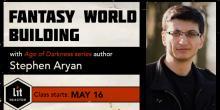 Fantasy World Building with Stephen Aryan