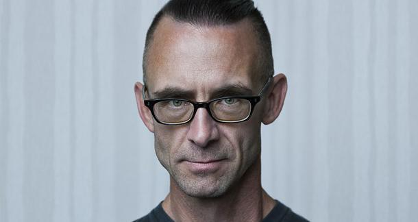 Chuck Palahniuk. Photograph by Allan Amato