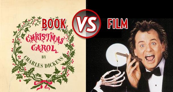 Book vs film a christmas carol vs scrooged litreactor book vs film a christmas carol vs scrooged ccuart Choice Image