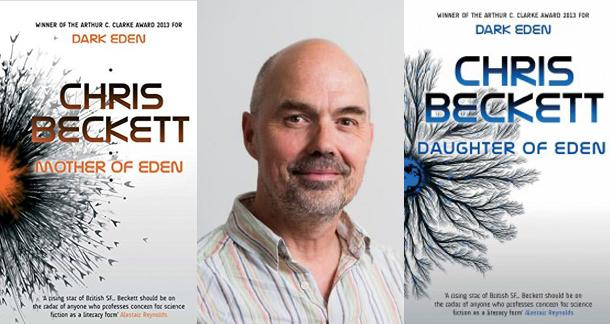 Daughter of Eden author Chris Beckett