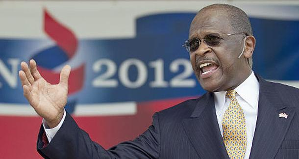 Herman Cain's campaign spent $36,000 to buy copies of the candidate's books