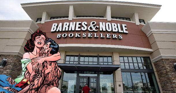 Barnes and Noble Declares Vindictive Corporate War on DC Comics, Shoots Self in