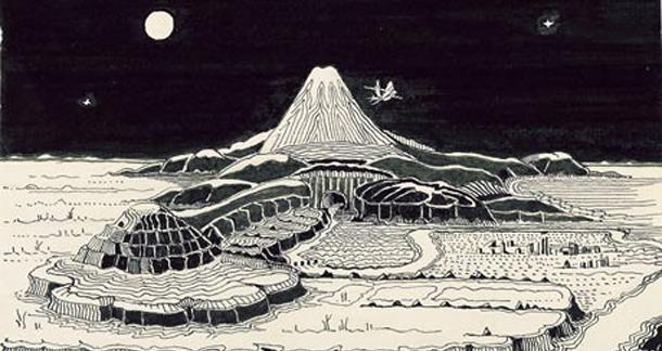 Additional JRR Tolkien illustrations uncovered