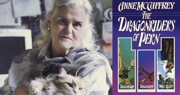 Fantasy Novelist Anne McCaffrey Passed Away At 85