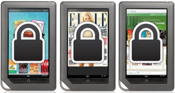 Internal storage restricted on Nook Tablet