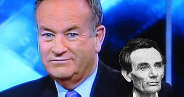 Bill O'Reilly's Lincoln book full of inaccuracies