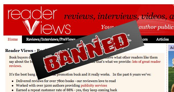 Reader Views banned by Amazon