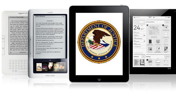 Justice Department investigates eBook pricing