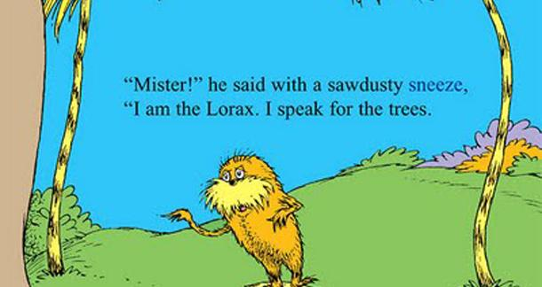 The Lorax is being used to sell SUVs