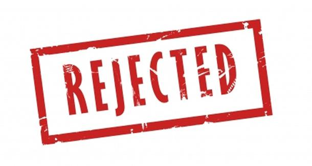 Fake rejection letter website