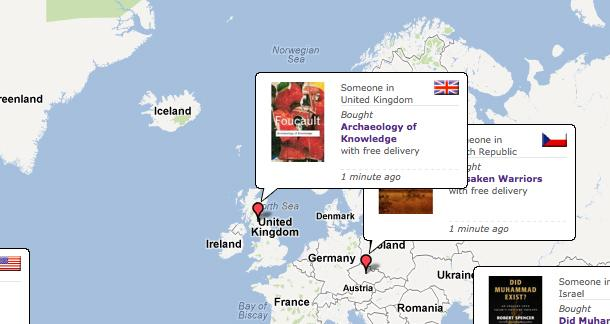 A New Book Buying Map