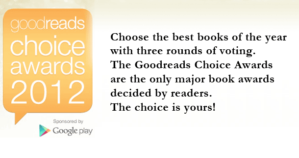 Voting now open for Goodreads 2012 Awards