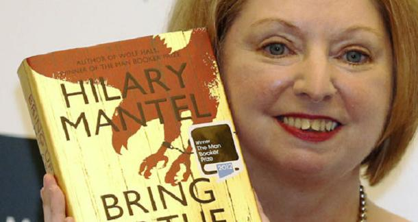 "Hilary Mantel's ""Bring Up The Bodies"" Man Booker"