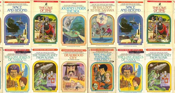 Choose Your Own Adventure Goes Digital