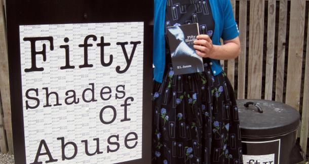Charity Using Fifty Shades of Grey as Toilet Paper