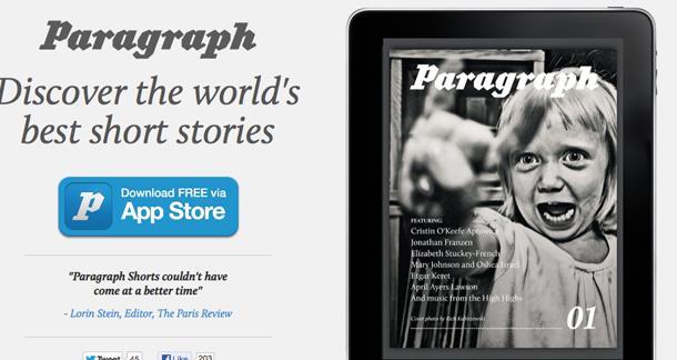 Paragraph Short Story App