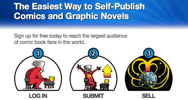 comiXology Self-Publishing Service 'Submit'