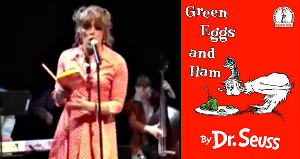 Drag Queen Reads Dr Seuss's 'Green Eggs And Ham' To Kids