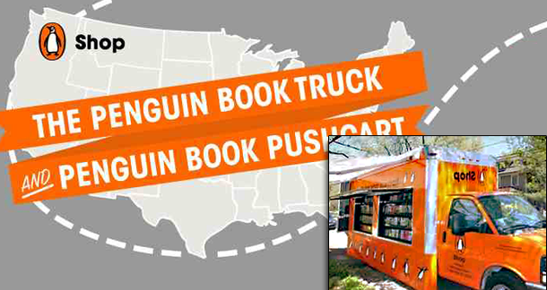 Penguin Book Truck To Travel Country