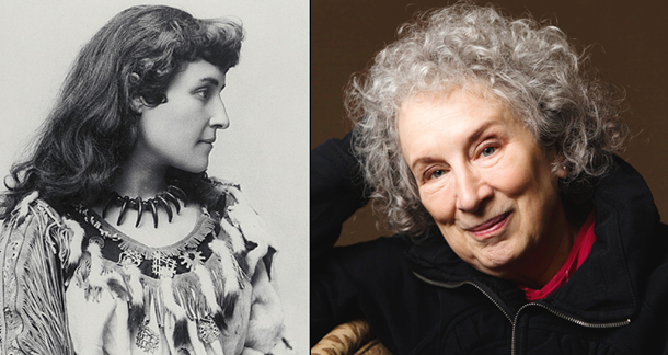 Margaret Atwood and Pauline Johnson